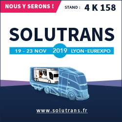 Solutrans stand ECLER