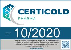 Marquage Certicold Pharma