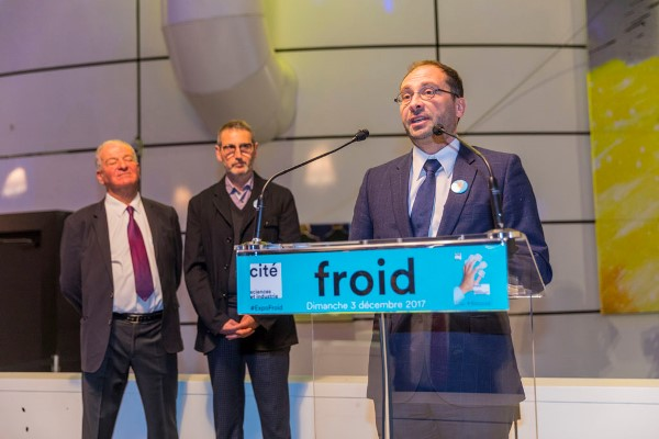 Inauguration Expo froid
