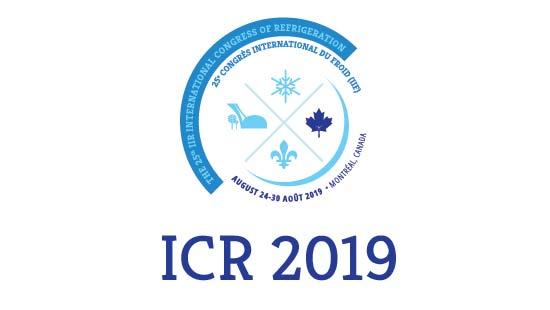 Logo ICR 2019 IIF refrigeration