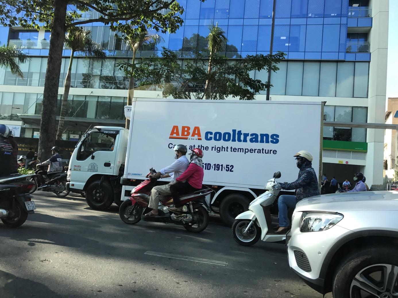 Camion frigo Vietnam