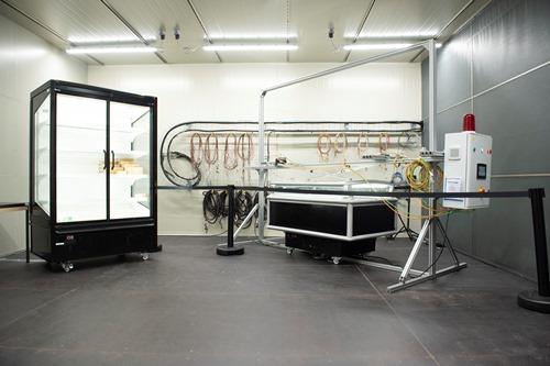 Cellule d'essais de Meubles frigorifiques de vente Cemafroid