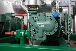 Compresseur installation frigorifique Ammoniac NH3