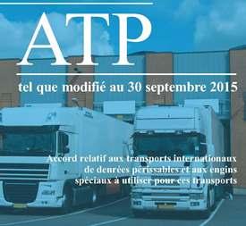 Accord ATP transport frigorifique