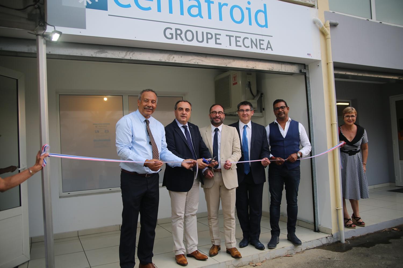 Inauguration la Réunion Cemafroid