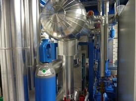 installation climatique et frigorifique au CO2
