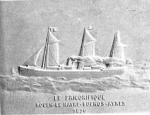 Le bateau le Frigorifique