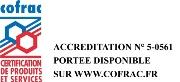 accréditation Cofrac Certification ATP Cemafroid