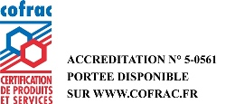 Accreditation Cofrac Certification