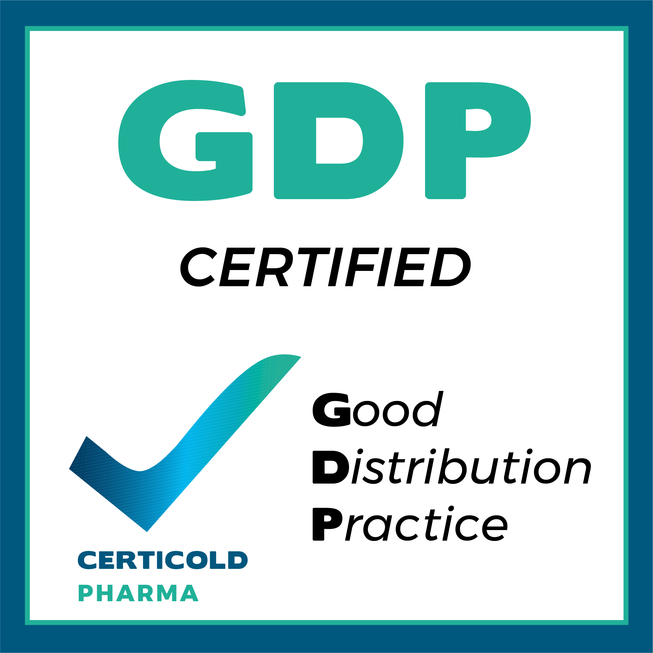 Certification pharma GDP Certicold