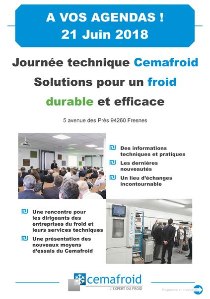 Journée technique Cemafroid 2018