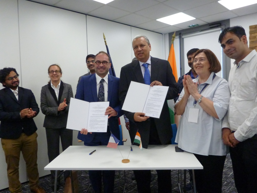 Signature lettre intention Cemafroid- Gujarat