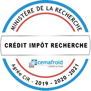 Agrément CIR Cemafroid 2019-2021