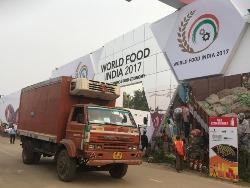 Camion frigorifique en Inde