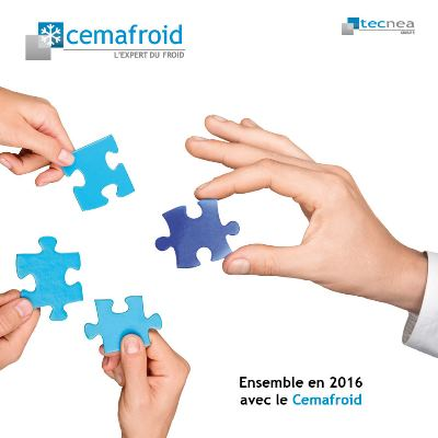 Carte de voeux Cemafroid-Tecnea-2016