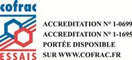Accréditation Cofrac Essais laboratoires Cemafroid