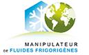 Fluides frigorigènes; Attestation de capcité à manipuler les fluides frigorigènes
