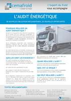 audit energetique pour le transport