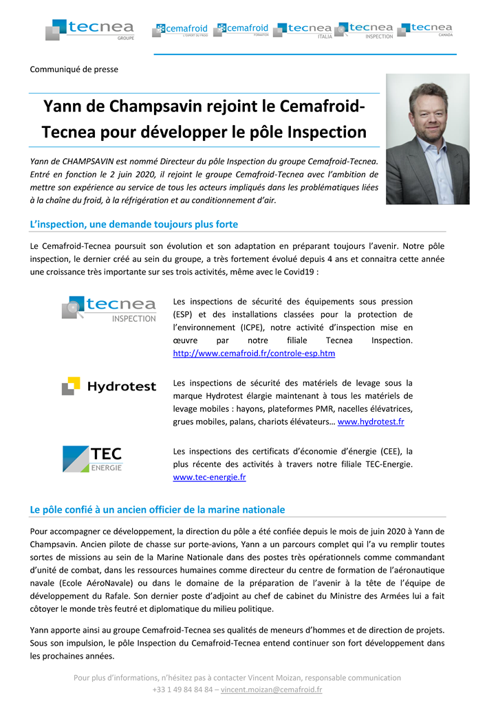 CP Tecnea Inspection