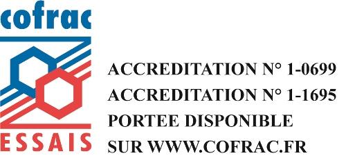 Logo COFRAC Essais Cemafroid