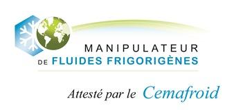 attestation ADC fluides frigorigenes FGAS