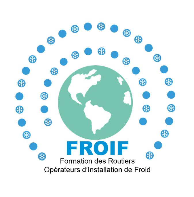 Logo FROIF Formation conducteurs routiers froid Economie d'énergie