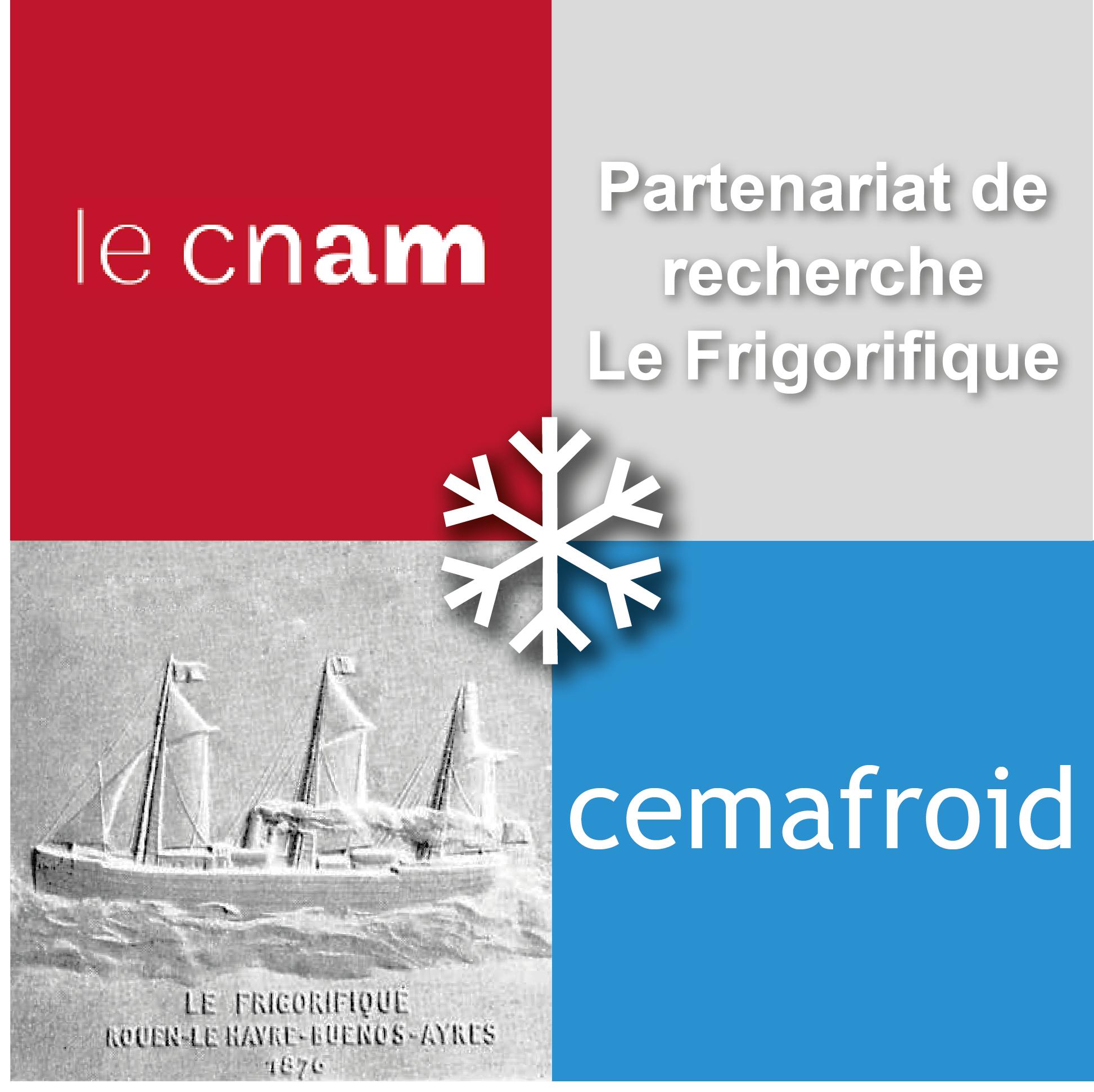 Signature partenariat de recherche Le Frigorifique Cemafroid-CNAM