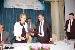 Signature accord ATP France Tunisie