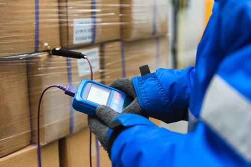 enregistreur température transport produit santé pharma NF EN 12830